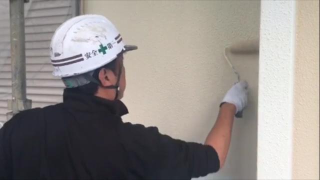 横浜市鶴見区 外壁塗装の塗り替え動画