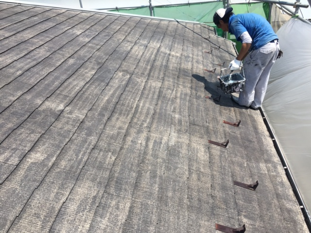 横浜市港北区 屋根の塗り替え塗装をご紹介します☆