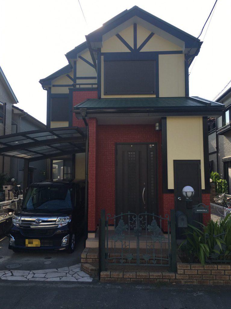 横浜市青葉区N様邸 外壁塗装工事