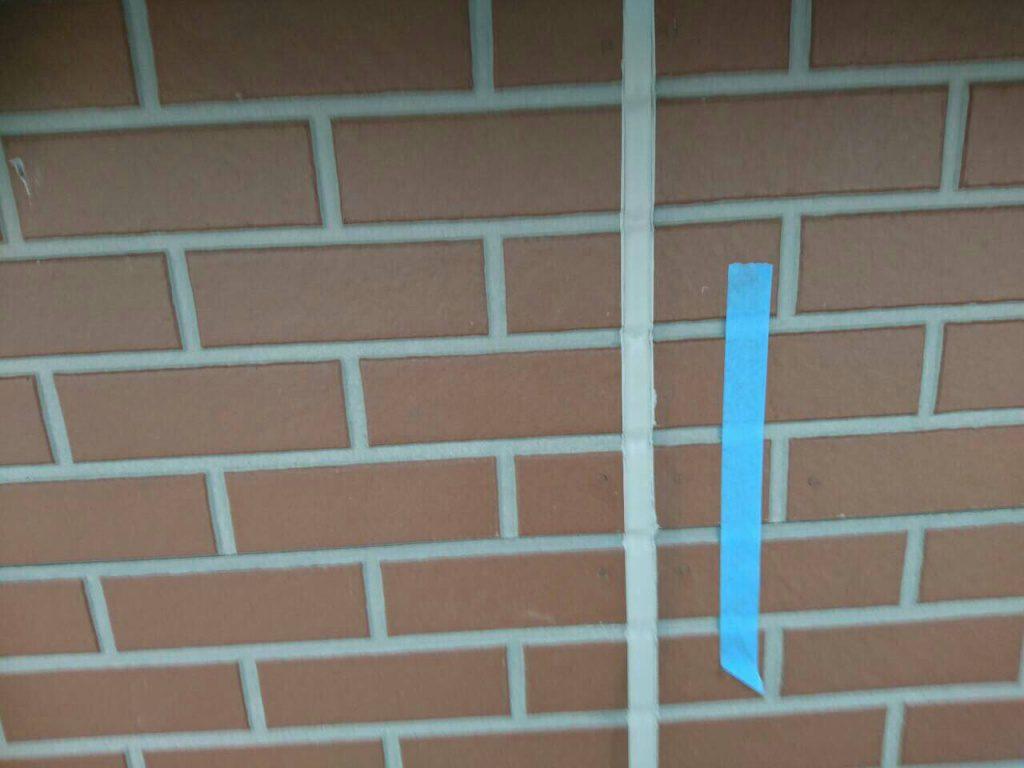 横浜市鶴見区 劣化しているシールの打ち替え工事