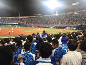 横浜DeNA☆VS巨人 横浜建設一般労働組合の青年部のプロ野球観戦に行ってきました☆
