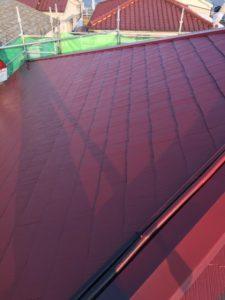 横浜市鶴見区 屋根塗装工事を行いました!