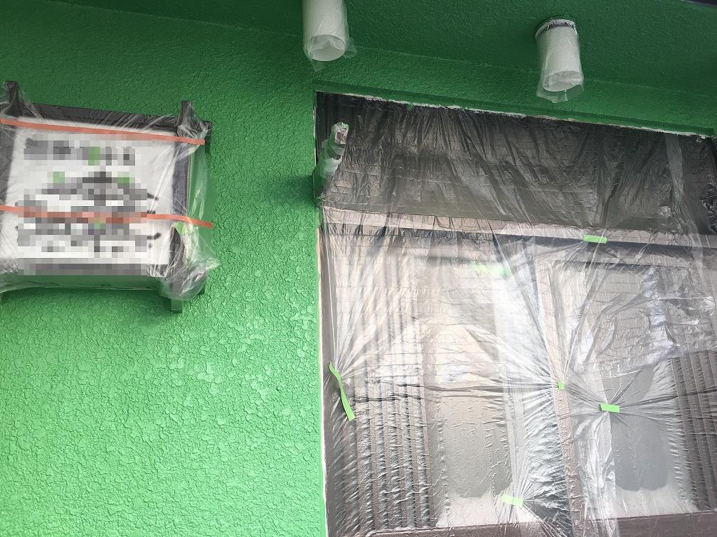 東京都アパートの外壁塗装工事を行いました!