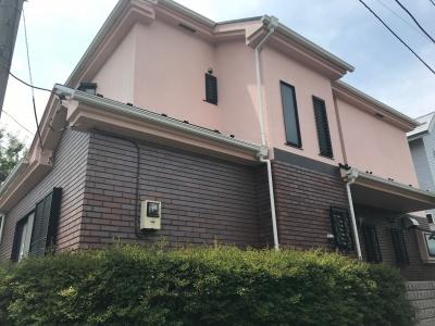 横浜市鶴見区にて全塗装工事を行いました☆彡