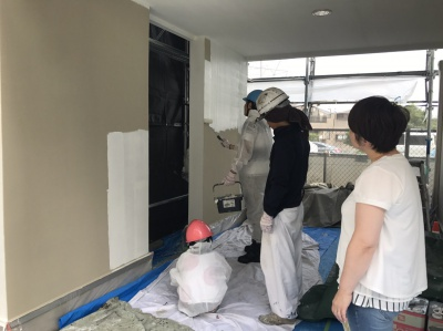 ☆外壁塗装をお考えのお客様限定☆~リープジー1日塗装体験~