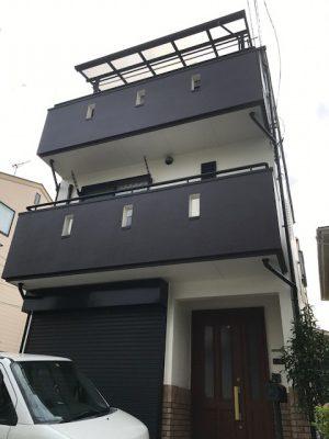 横浜市鶴見区S様邸の外壁リフォーム工事を行いました✌✨