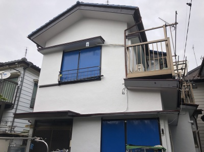 横浜市鶴見区N様邸の外壁リフォーム工事を行いました✌✨