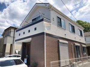 横浜市鶴見区のT様邸のリフォーム塗装工事を行いました👐