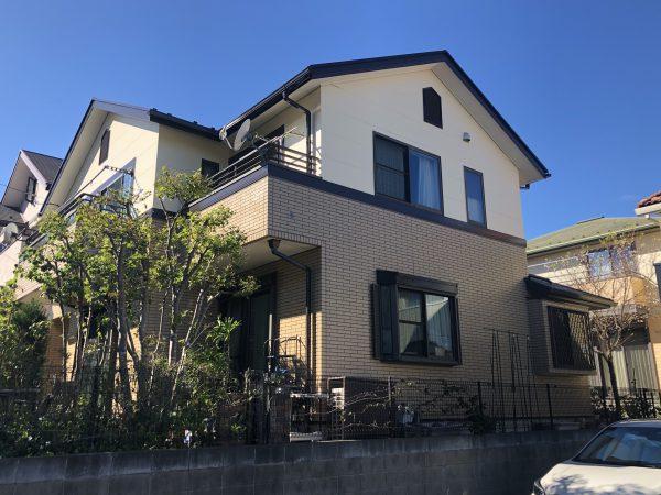 一流職人による横浜市南区H様邸の外壁塗装工事・屋根塗装工事・付帯部塗装工事を行いました👐