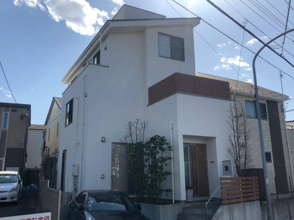 地域密着の一級塗装技能士による横浜市鶴見区K様邸の屋根塗装工事・外壁塗装工事・防水工事を行いました☺✨
