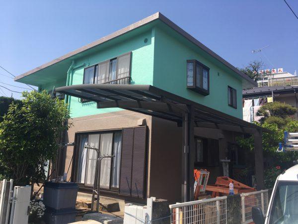 あつまれ!!外壁塗装専門店リープジーの森【あつ森🍃】-4月施工T様邸のご紹介です-