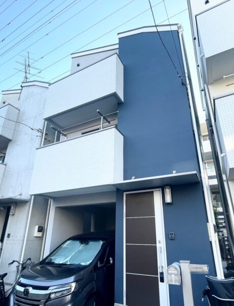 【外壁塗装専門店】川崎市Y様宅の外壁塗装の紹介です🏠~水性セラミシリコン75‐30Ⅾ塗料使用~
