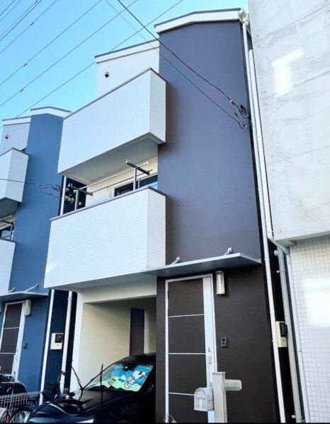 【外壁塗装】川崎市H様邸の外壁塗装のご紹介です~水性セラミシリコン15‐30B使用~